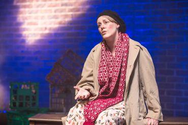 IllumiNation Theatre's Fleur Murphy performs 'The Rain' by Daniel Keene Photography by Sarah Steiner