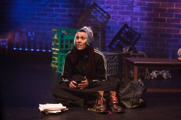 IllumiNation Theatre's Stephanie Pick performs 'Two Shanks' by Daniel Keene Photography by Sarah Steiner 1